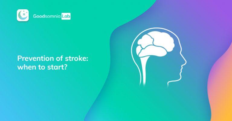 Prevention of stroke: when tostart?