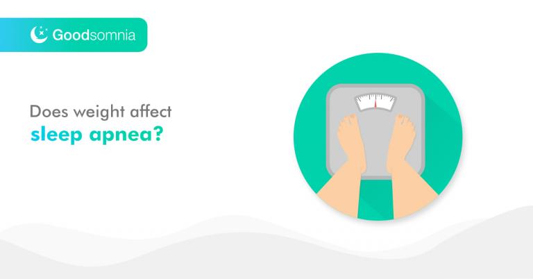 Does weight affect sleep apnea?
